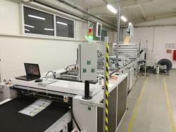 Maszyna do zgrzewania woreczków foliowych
